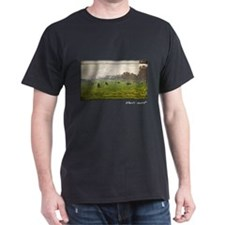 Monet Painting, Green Park in London T-Shirt