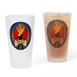 Fallen Angel Drinking Glass