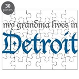 My Grandma lives in Detroit Puzzle