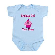 1st Birthday Cupcake Onesie