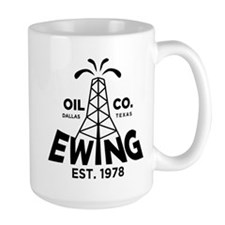Dallas Retro Ewing Oil Mug
