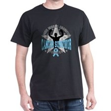 Prostate Cancer Tough Men Survivor T-Shirt