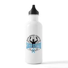 Prostate Cancer Tough Men Survivor Sports Water Bottle