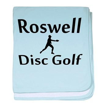 Roswell Disc Golf baby blanket