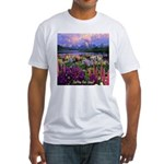 Can You Find Jesus? Fitted T-Shirt