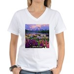 Can You Find Jesus? Women's V-Neck T-Shirt