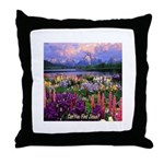 Can You Find Jesus? Throw Pillow
