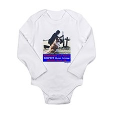 Remember our Fallen -- Long Sleeve Infant Bodysuit