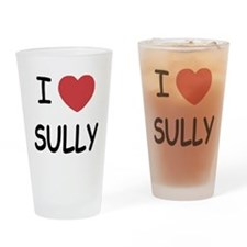I heart sully Drinking Glass