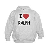 I heart ralph Hoodie