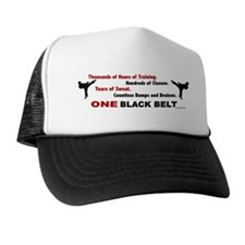 ONE Black Belt Trucker Hat