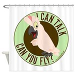 ICT,CYF Moluccan Cockatoo Shower Curtain