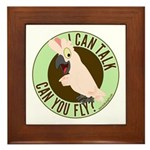 ICT,CYF Moluccan Cockatoo Framed Tile
