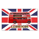 Red Bus Decal