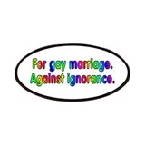 For gay marriage - Patches
