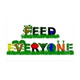 Feed Everyone 38.5 x 24.5 Wall Peel