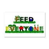 Feed Everyone Car Magnet 20 x 12