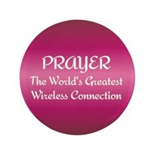 "Prayer - World's Greatest Wir 3.5"" Button"
