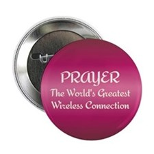 "Prayer - World's Greatest Wir 2.25"" Button (10 pac"