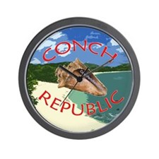 Conch Republic (Party Band) Wall Clock
