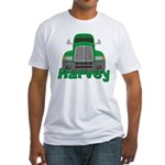 Trucker Harvey Fitted T-Shirt