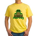 Trucker Harvey Yellow T-Shirt