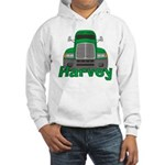 Trucker Harvey Hooded Sweatshirt