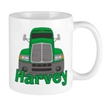 Trucker Harvey Mug