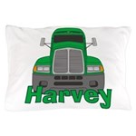 Trucker Harvey Pillow Case