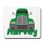 Trucker Harvey Mousepad