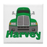 Trucker Harvey Tile Coaster