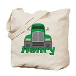Trucker Henry Tote Bag