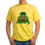 Trucker Henry Yellow T-Shirt