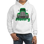 Trucker Henry Hooded Sweatshirt