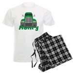 Trucker Henry Men's Light Pajamas