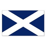 Scottish Flag Auto Decal /  Aufkleber