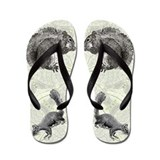 Squirrel Lover Flip Flops