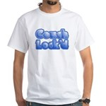 Couch Lock'd White T-Shirt