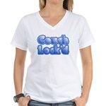 Couch Lock'd Women's V-Neck T-Shirt