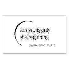 Breaking Dawn 2 Forever Sticker (Rectangle)