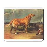 Maud Earl's Golden Retriever Mousepad