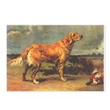 Maud Earl's Golden Retriever Postcards