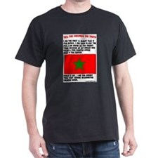 MOORISH FLAG LOGO1a T-Shirt
