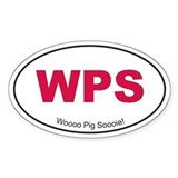 Red WPS Decal