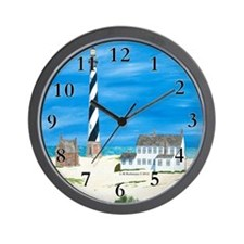 Ole Times at Cape Hatteras Wall Clock