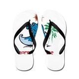 Borrowed Life Journey Flip Flops