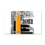 Original Muscle Car Orange Car Magnet 20 x 12