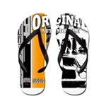 Original Muscle Car Orange Flip Flops