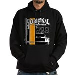 Original Muscle Car Orange Hoodie (dark)