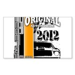 Original Muscle Car Orange Sticker (Rectangle 10 p